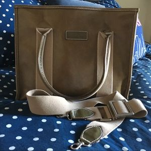 Olive Leather Dooney & Bourke Tote